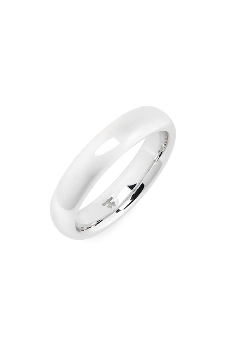 TOM WOOD Medium Polished Classic Sterling Silver Band, Main, color, 925 STERLING SILVER