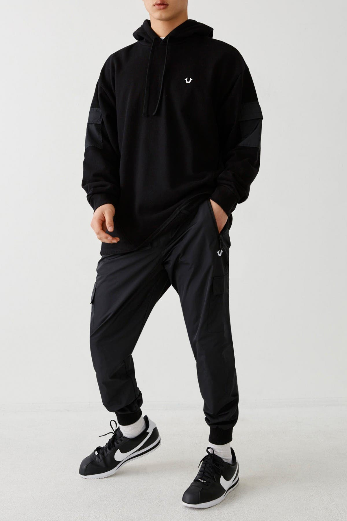 Image of True Religion Belted Joggers
