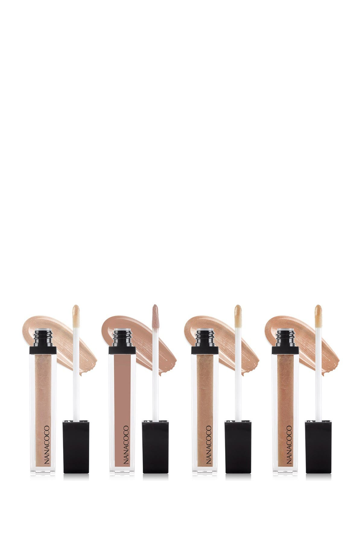 Image of Nanacoco Nothing But Nude 4-Piece Original Lip Gloss Collection