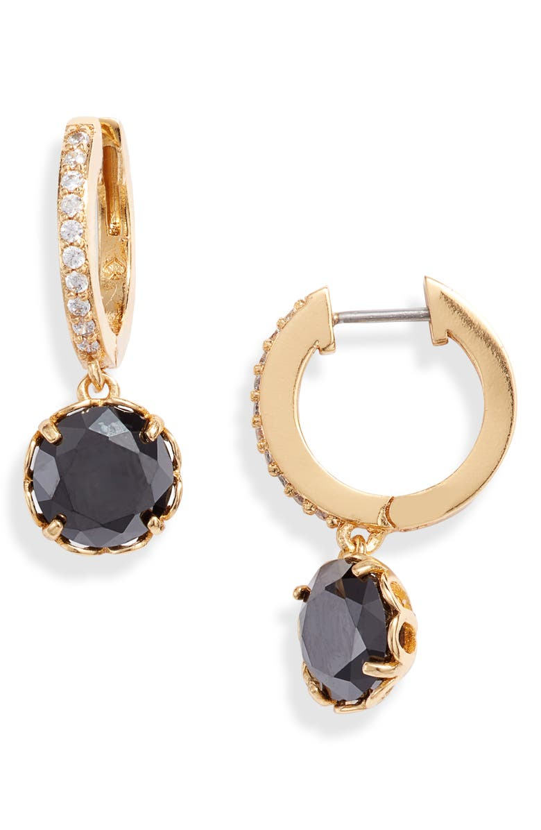 That Sparkle Pavé Huggie Hoop Earrings by Kate Spade New York