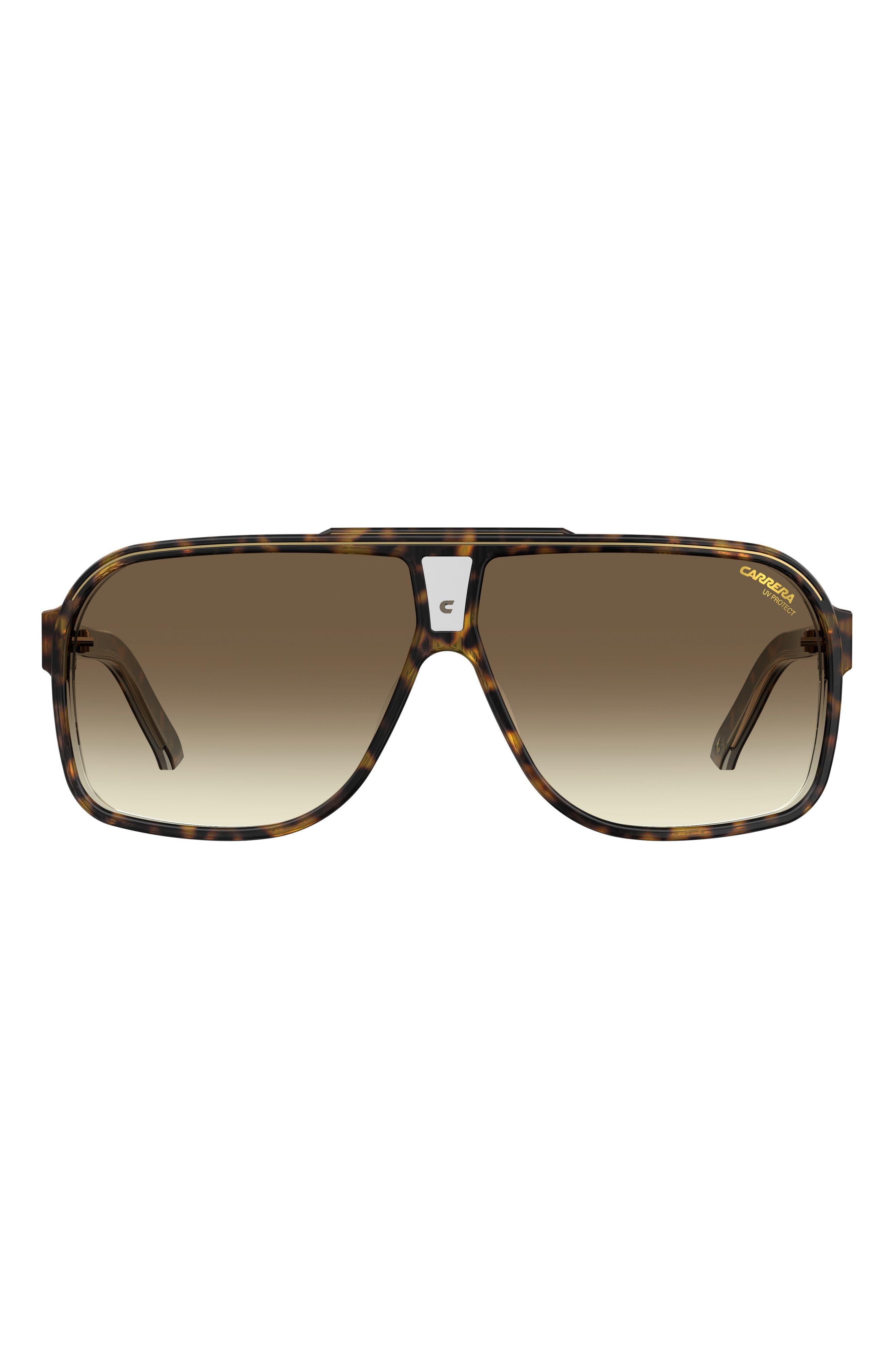Grand Prix 2 64mm Oversize Aviator Sunglasses