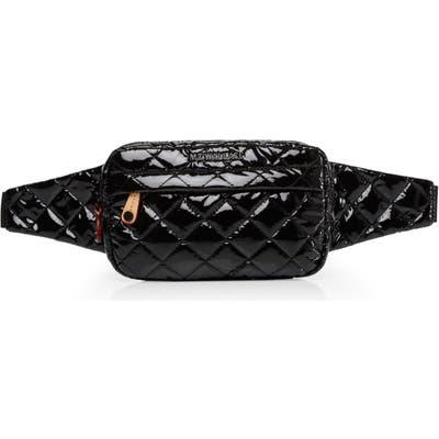 Mz Wallace Metro Belt Bag - Black