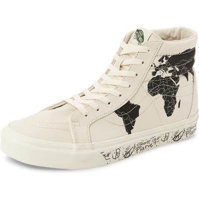 Vans Sk8-Hi Save Our Planet Sneaker, White