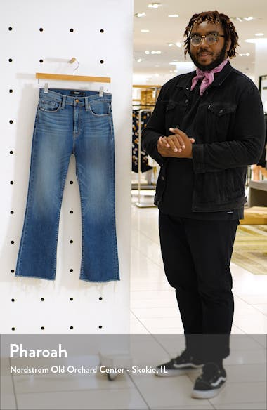 Holly Barefoot Crop Flare Jeans, sales video thumbnail