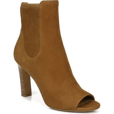 Vince Elsie Peep Toe Bootie, Brown