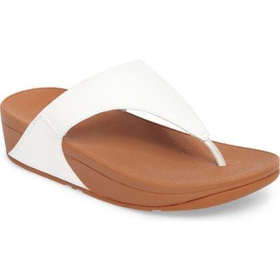Fitflop Lulu Flip Flop, White
