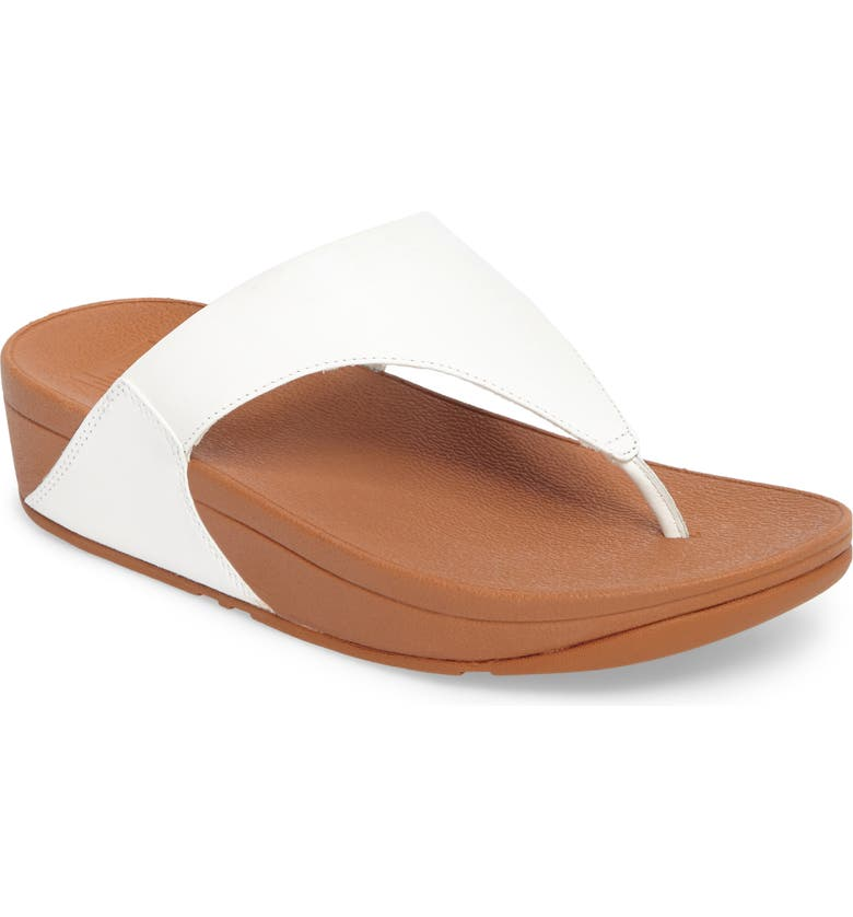 FITFLOP Lulu Flip Flop, Main, color, URBAN WHITE
