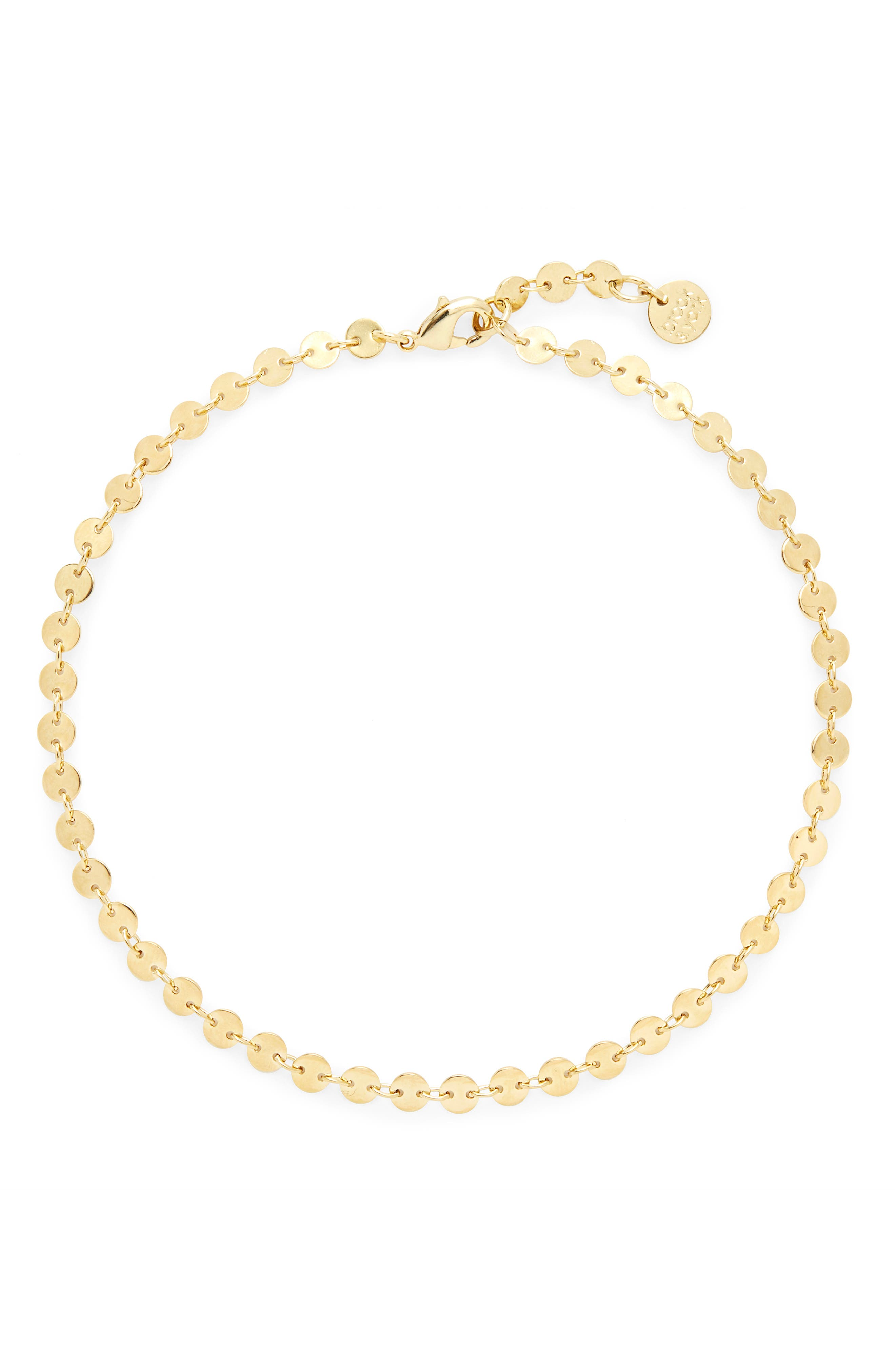 Sequin Chain Anklet