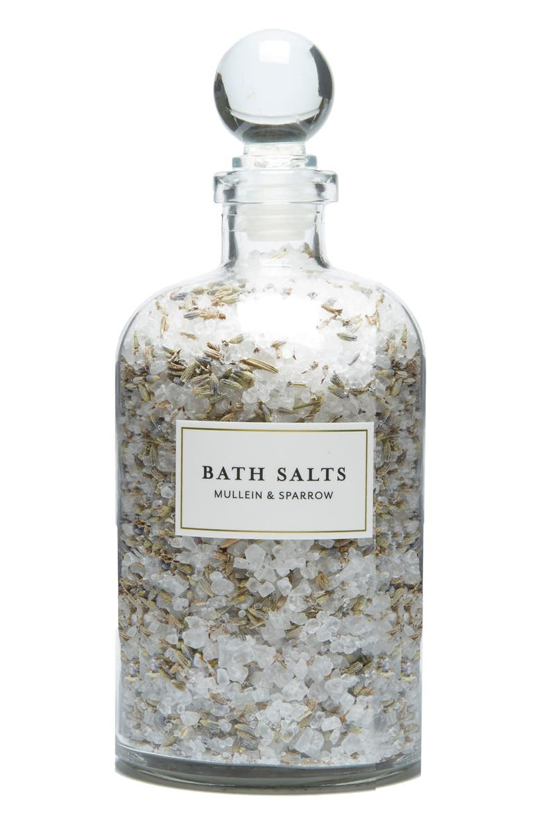 MULLEIN & SPARROW Bath Salts, Main, color, 100