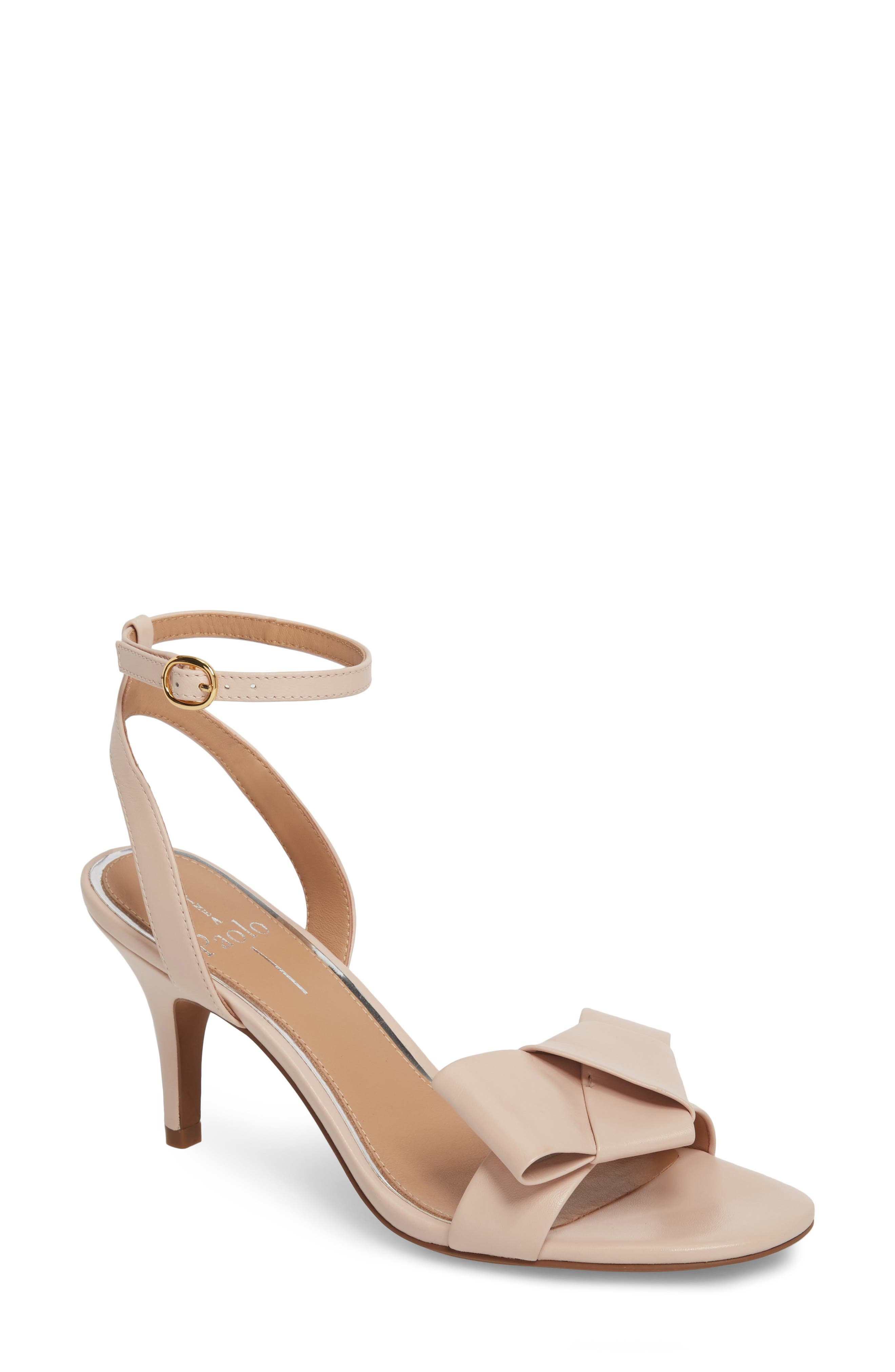 Linea Paolo Haven Ankle Strap Sandal- Pink