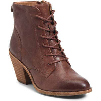 Sofft Tagan Lace-Up Boot, Brown