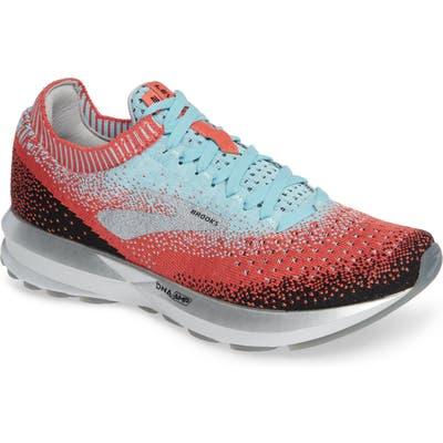Brooks Levitate 2 Running Shoe, Coral
