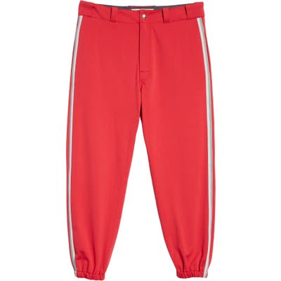 Marni Techno Jersey Sweatpants, Red (Nordstrom Exclusive)