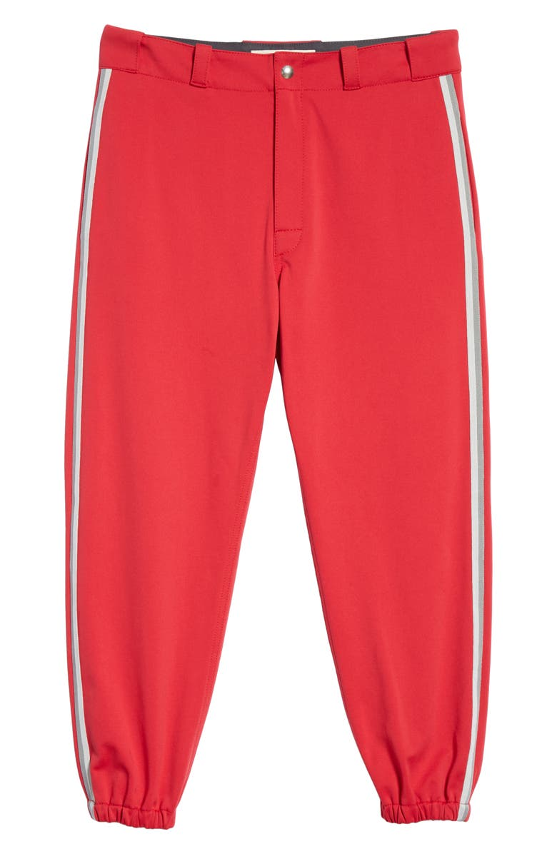 MARNI Techno Jersey Sweatpants, Main, color, RED