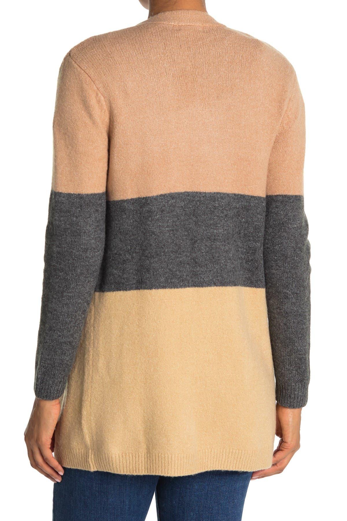 Image of Ceny Colorblock Cardigan Sweater