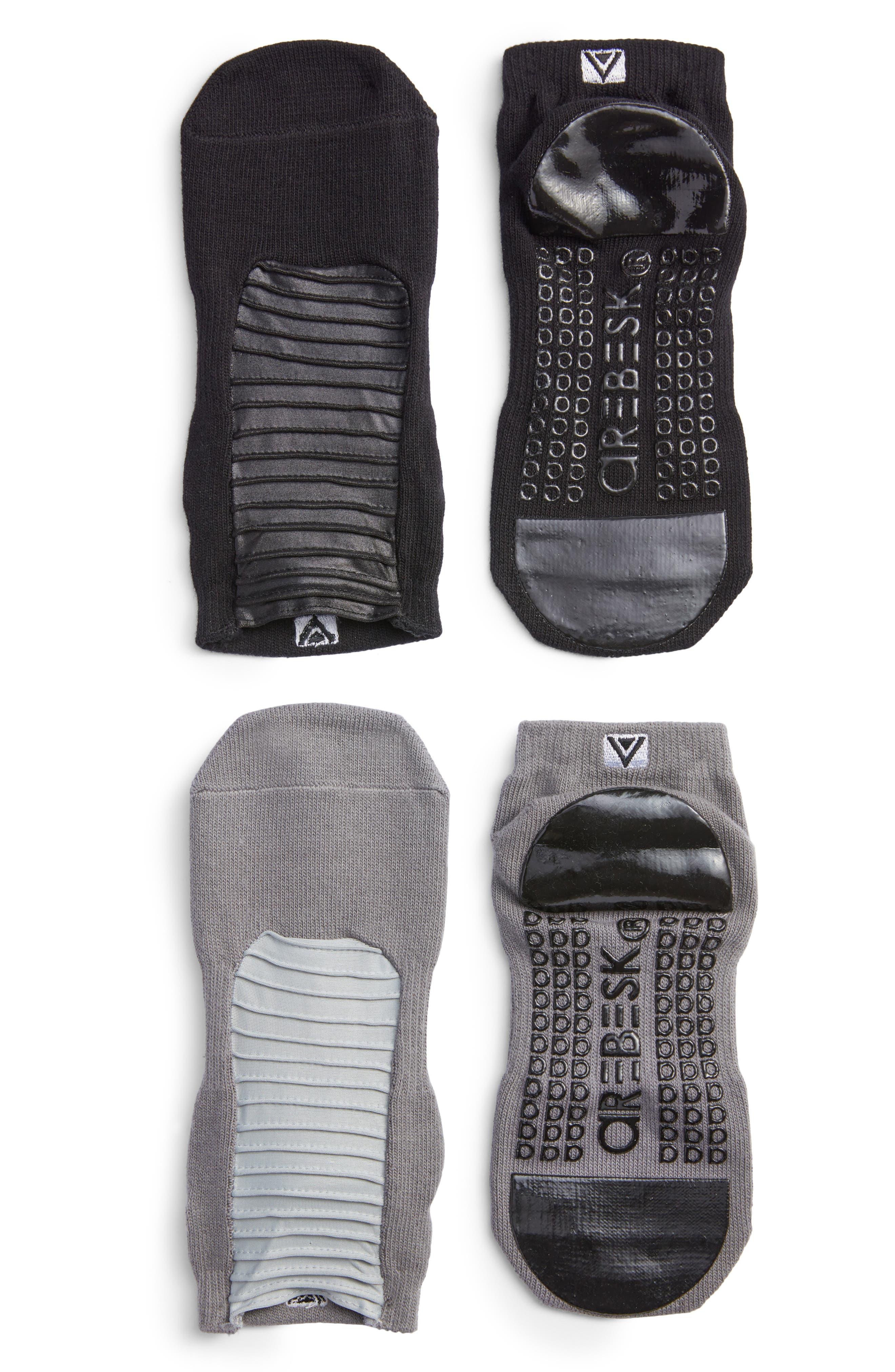 Moto Assorted 2-Pack Closed Toe Ankle Socks