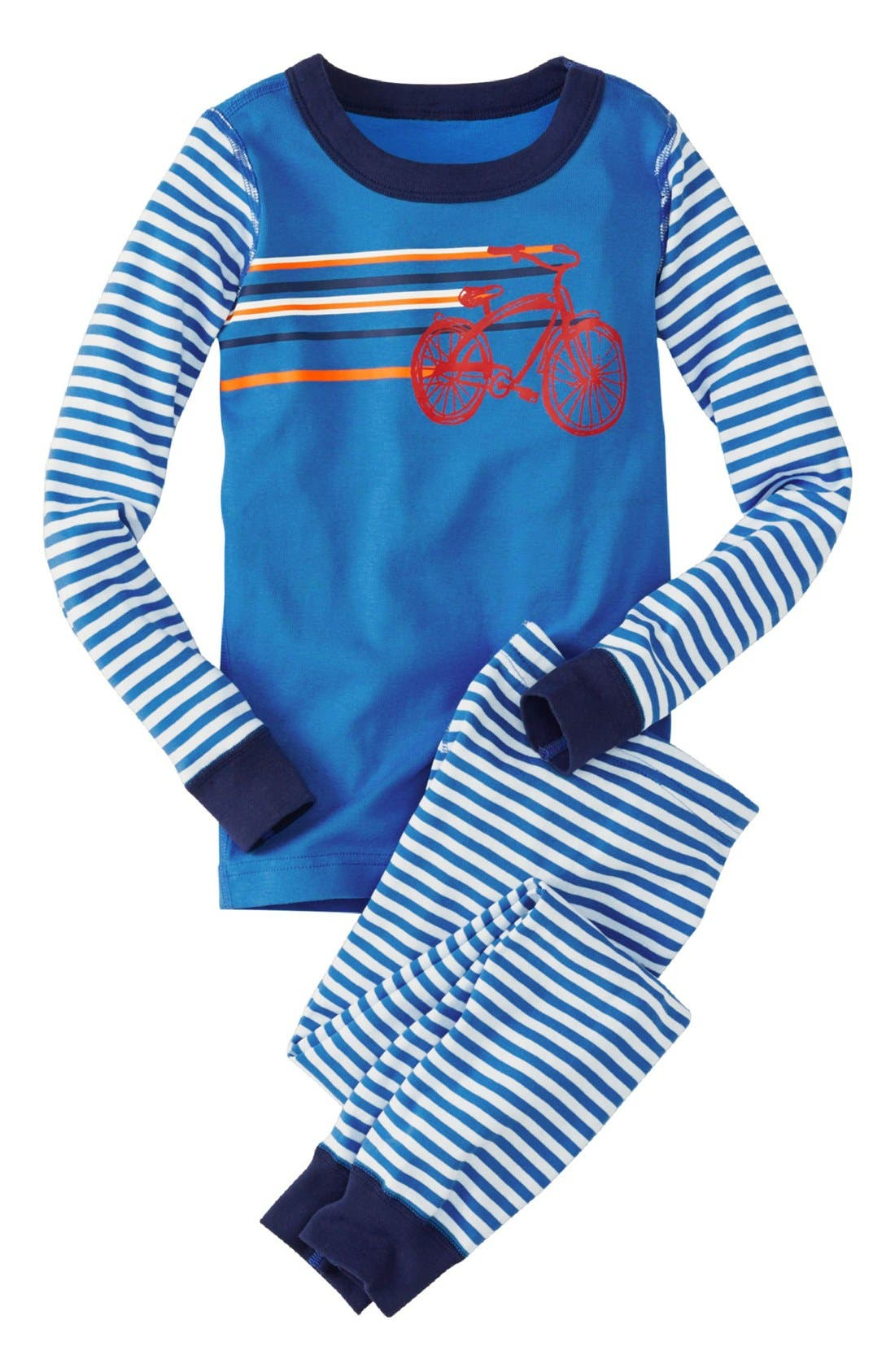 Two-Piece Fitted Pajamas, Main, color, 428