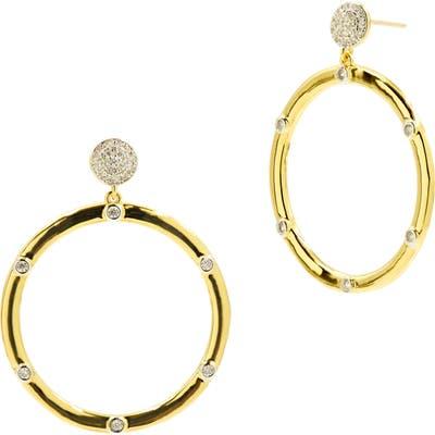 Freida Rothman Radiance Hoop Earrings