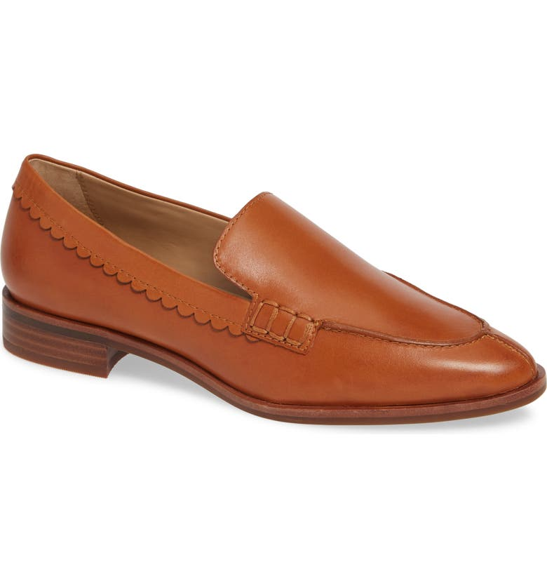 THE FLEXX Bowery Loafer, Main, color, COCONUT VACHETTA LEATHER