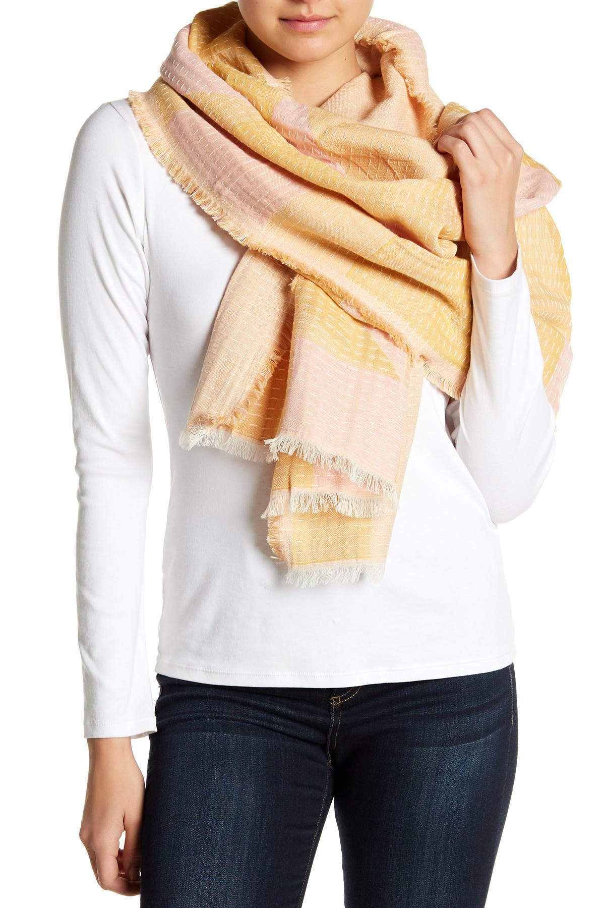 Image of Madewell New Forms Stitched Scarf