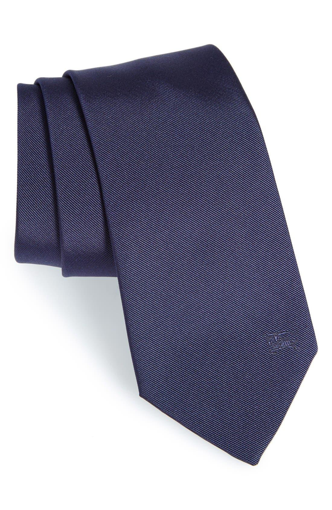 London 'Manston' Twill Silk Tie, Main, color, 410
