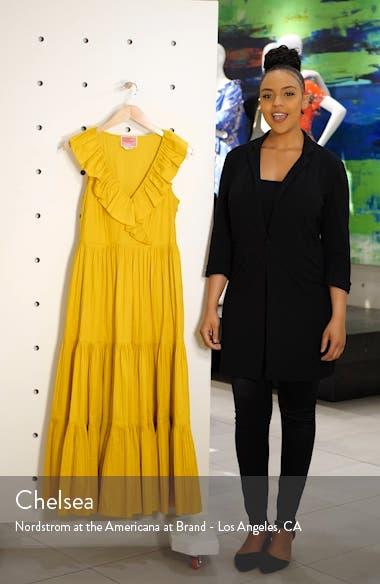 tiered poplin dress, sales video thumbnail