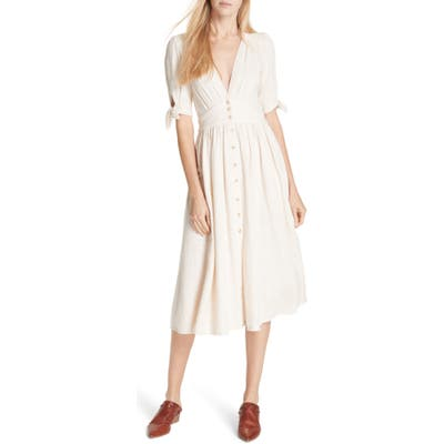 Free People Love Of My Life Midi Dress, Ivory