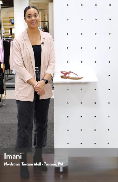 'Plate' Sandal, sales video thumbnail