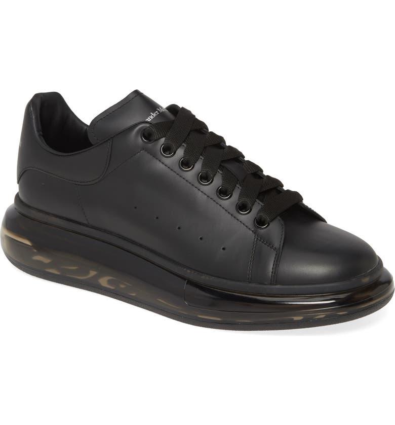 ALEXANDER MCQUEEN Oversize Low Top Sneaker, Main, color, BLACK/ BLACK/ BLACK