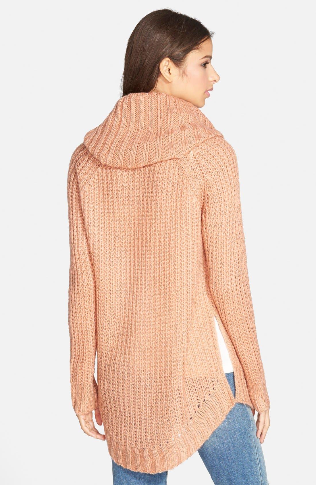 ,                             Cowl Neck Sweater,                             Alternate thumbnail 37, color,                             650