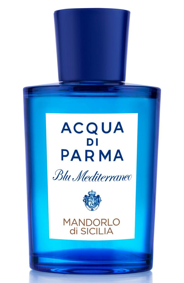 ACQUA DI PARMA 'Blu Mediterraneo' Mandorlo di Sicilia Eau de Toilette Spray, Main, color, NO COLOR