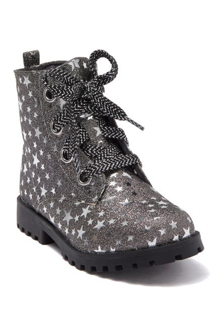 Image of Harper Canyon Star Print Combat Bootie