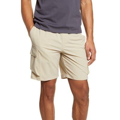 Saturdays Nyc Pete Drawstring Cargo Shorts, Brown