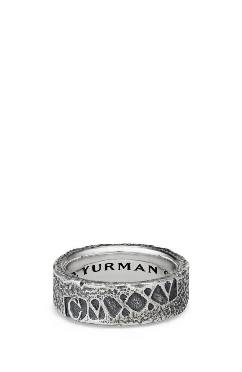 DAVID YURMAN Shipwreck Band Ring, 8mm, Main, color, SILVER