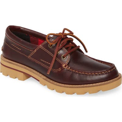 Sperry Authentic Original Boat Shoe- Burgundy