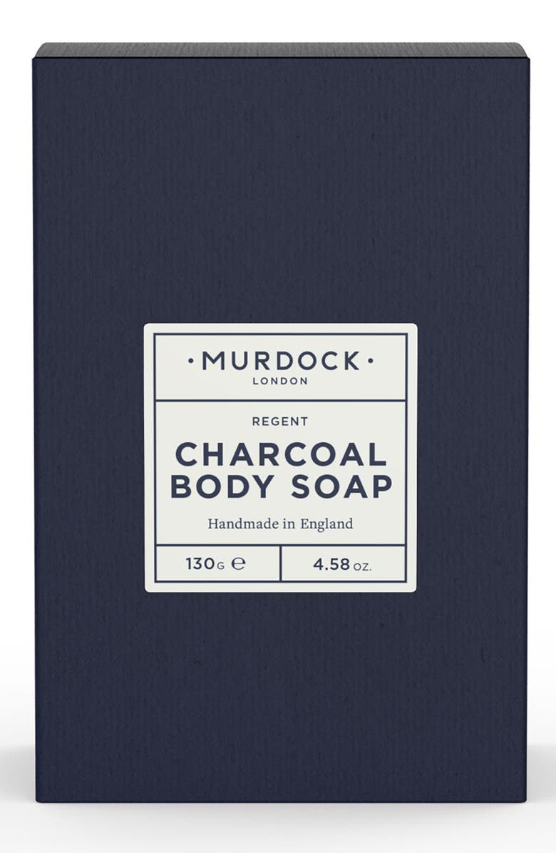 MURDOCK LONDON Charcoal Body Soap, Main, color, NO COLOR