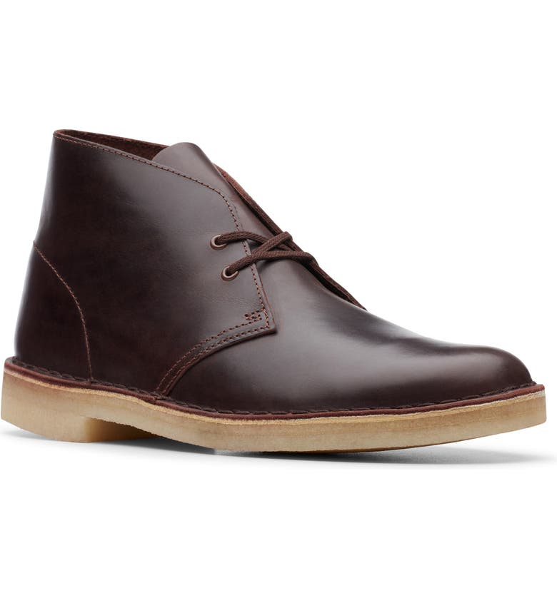 CLARKS<SUP>®</SUP> Desert Chukka Boot, Main, color, CHESTNUT LEATHER