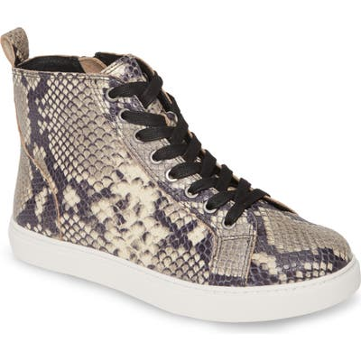 Matisse Entice High Top Sneaker- Black