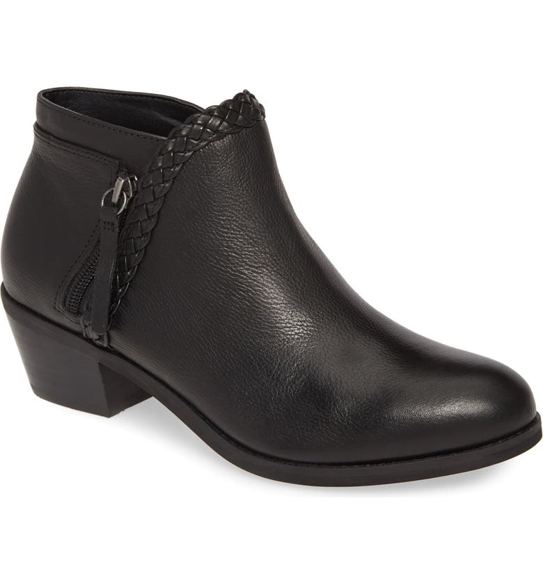 AETREX Mariana Bootie, Main, color, BLACK LEATHER