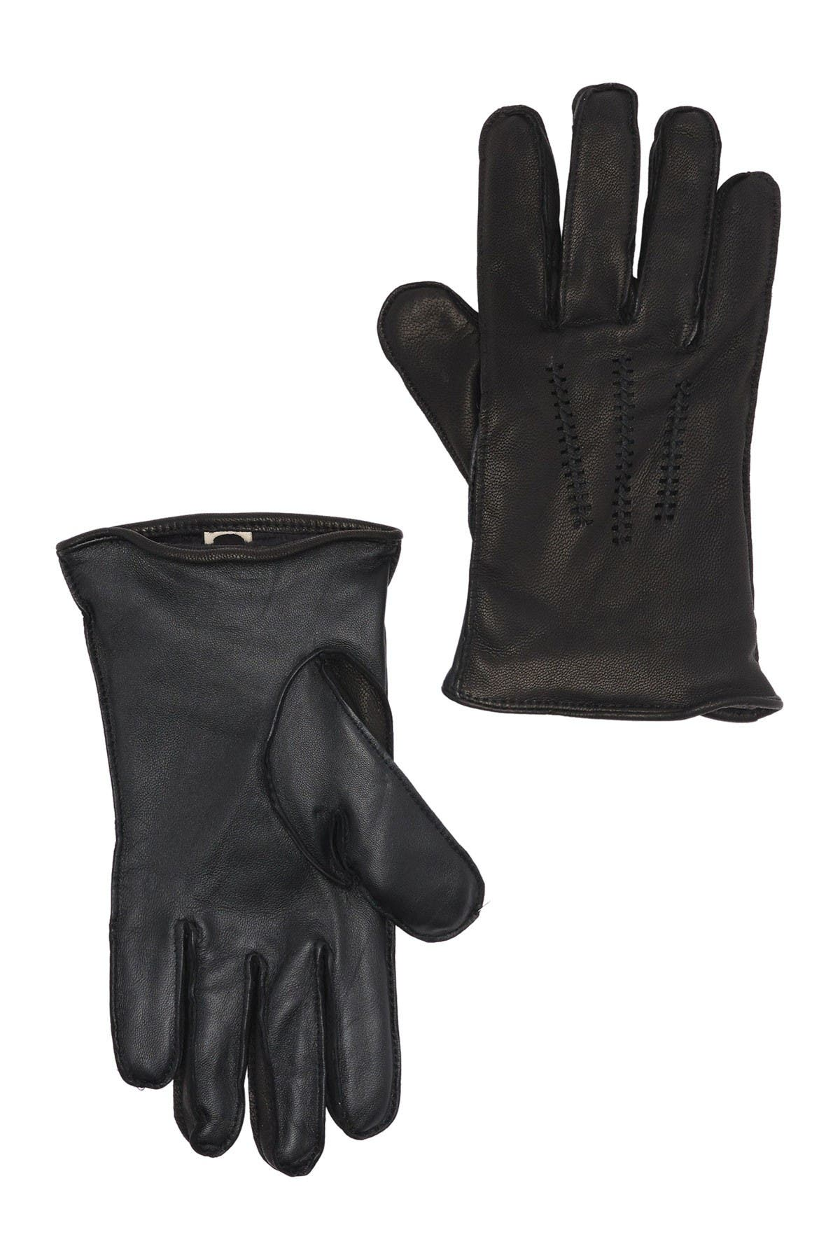 Image of UGG Wrangell Faux Fur Lined Smart Gloves
