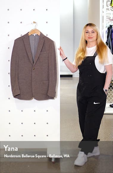 Crown Classic Knit Wool Blend Sport Coat, sales video thumbnail