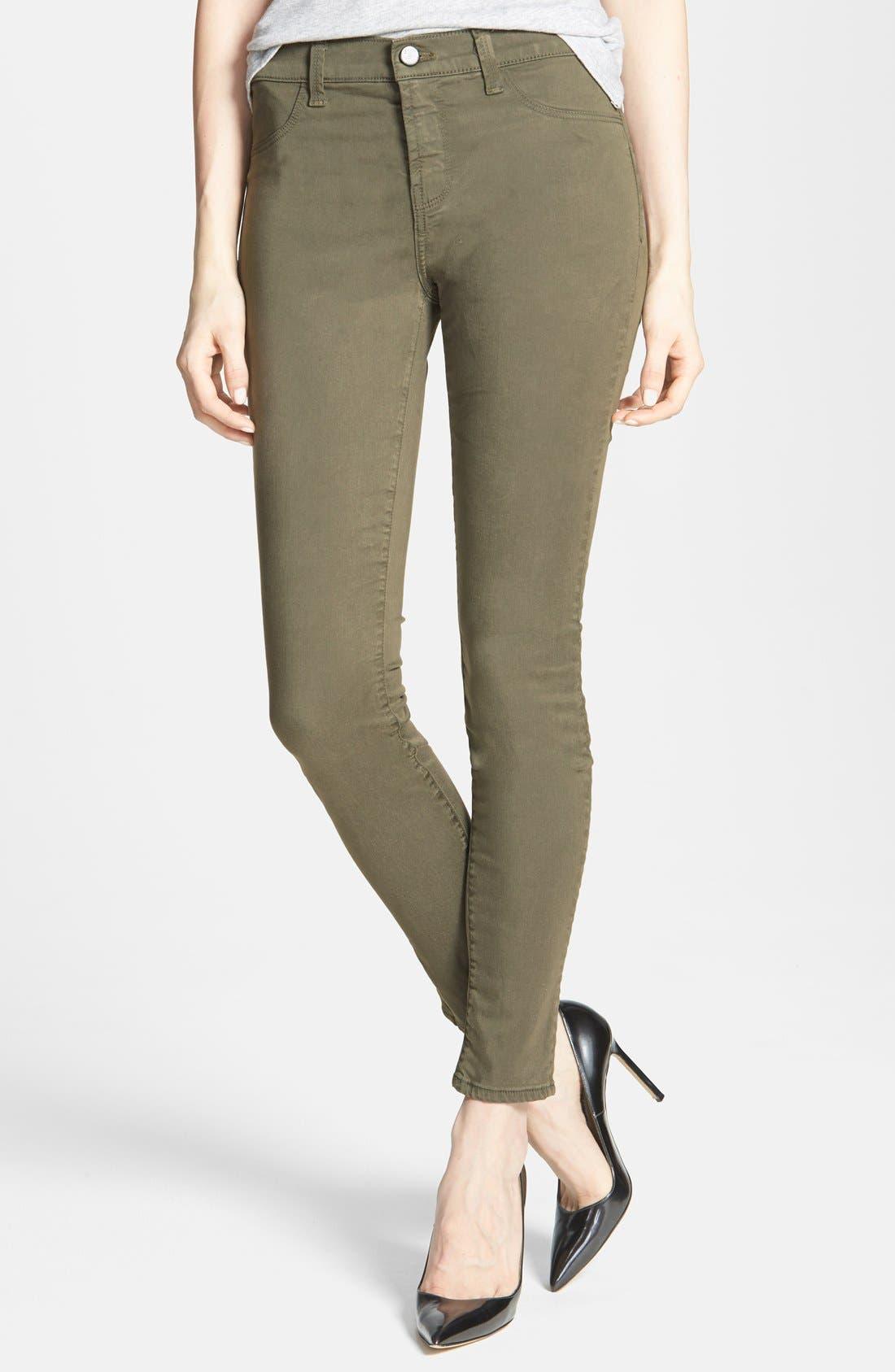 ,                             '485' Mid Rise Super Skinny Jeans,                             Main thumbnail 33, color,                             302