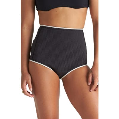 Billabong Hidetide Bikini Shorts, Black