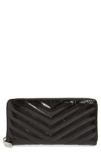 Image of Rebecca Minkoff Edie Quilted Leather Wallet