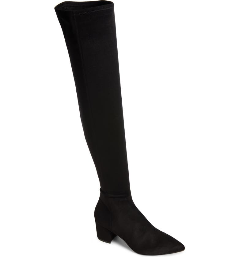 STEVE MADDEN Brinkley Over the Knee Stretch Boot, Main, color, 001