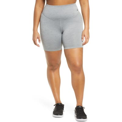 Plus Size Nike One Dri-Fit Shorts, Grey