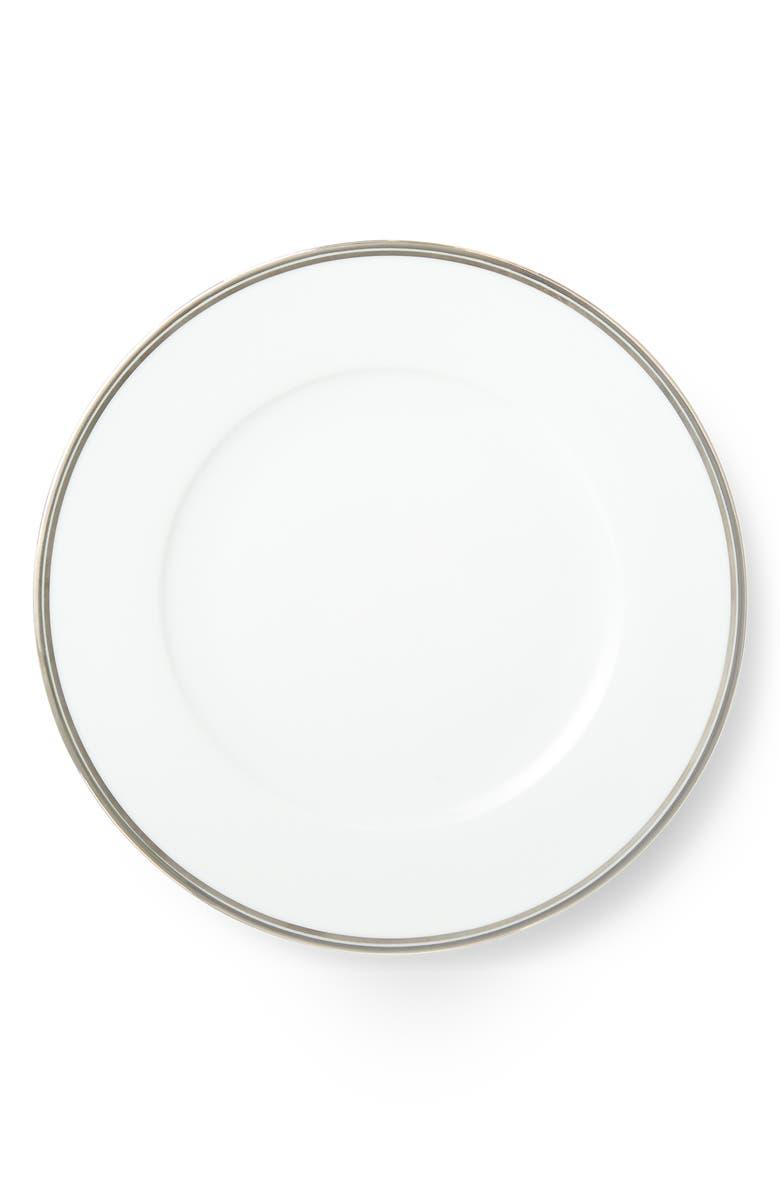 RALPH LAUREN Wilshire Dinner Plate, Main, color, PLATINUM