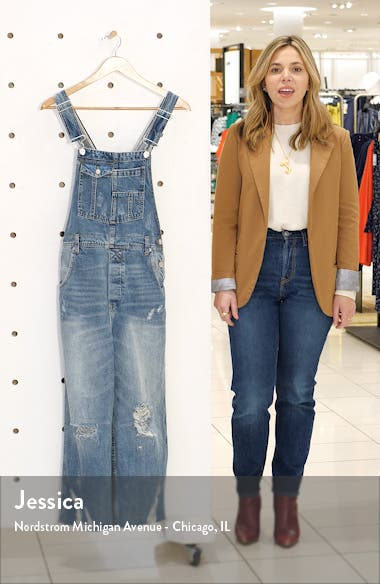 Baggy Crop Overalls, sales video thumbnail
