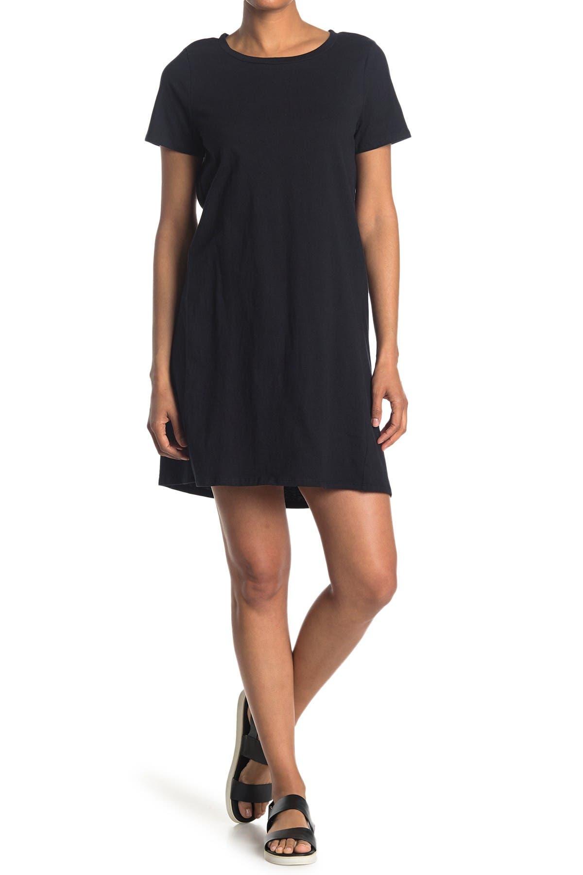 Image of Bobeau Cotton T-Shirt Dress