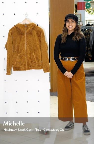 Furry Fleece Hooded Jacket, sales video thumbnail